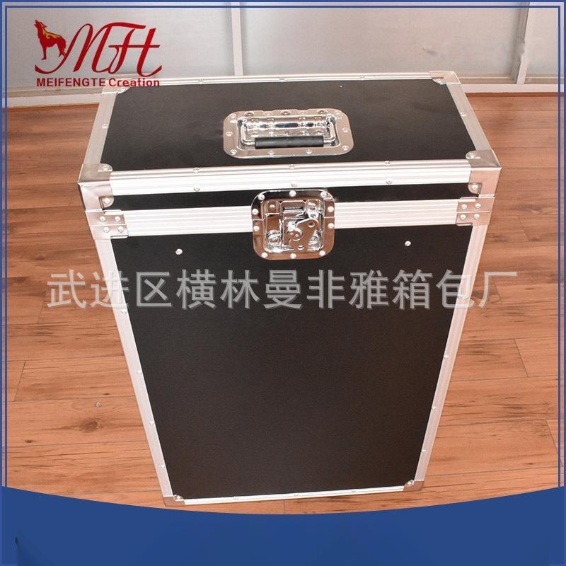 航空铝箱生产厂家 铝合金航空拉杆铝箱 加固耐摔eva防震垫