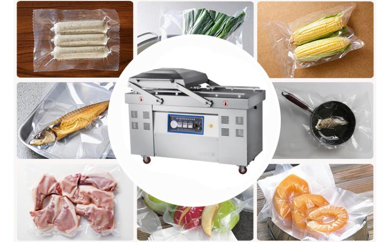 小康真空封口机 冷鲜肉600半自动真空封口机