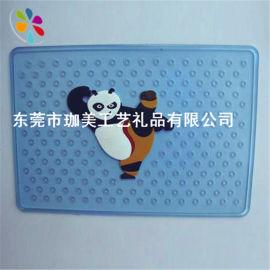 供应卡通PVC软胶防滑垫 卡通胶垫  立体防滑垫脚