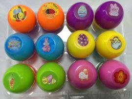 彩蛋 复活节蛋形印章 回墨印章