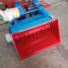 卧式大口径泡沫箱快餐盒自动吸料粉碎机