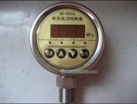 不锈钢外壳数字压力控制表
