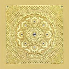 中式古典艺术成品莲花天花