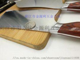 陽江紅木柄刀具六件套好廚娘