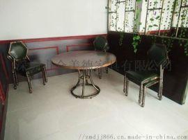 餐厅实木桌子大理石餐台中式餐桌款式定做北欧风餐桌椅