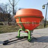 销售农用拖拉机带后置撒肥机农田化肥抛洒机