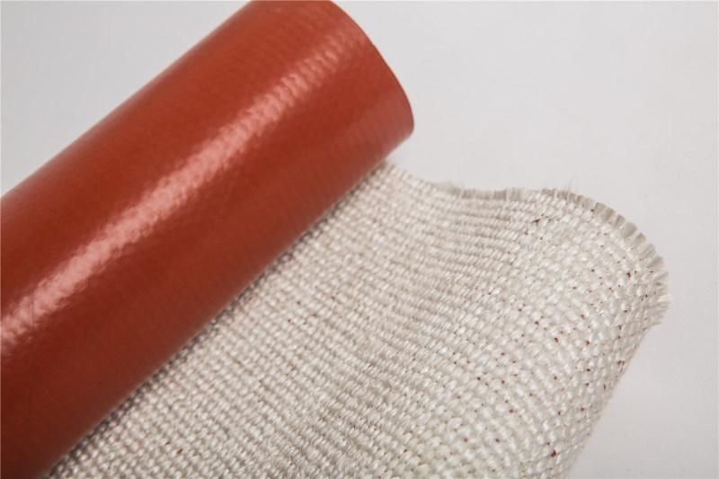 高温隔热玻纤硅胶布,硅胶布,玻璃纤维布