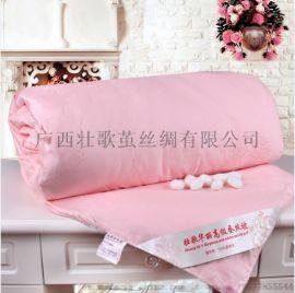 壯歌絲綢蠶絲被生產廠家、桑蠶絲生產