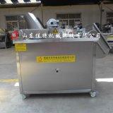 河南新款肉片裹浆油炸机,自动进出料的油炸机
