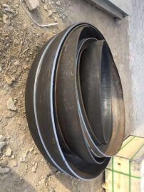 河北半球形管帽加工DN100碳鋼蝶形管帽