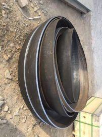 河北半球形管帽加工DN100碳钢蝶形管帽