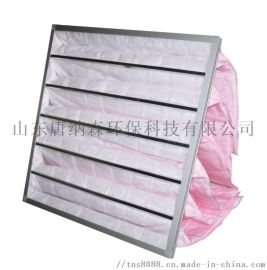 袋式中效过滤器 净化空调中效过滤器等级F7