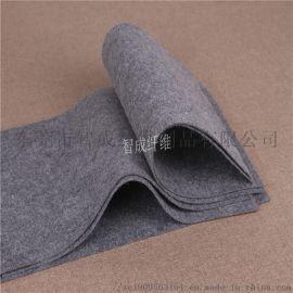 厂家定做灰色聚酯针刺毡服装衬里 灰色阻燃针刺无纺布