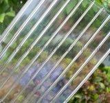 濱州pc雙層陽光板雨棚,湖藍色陽光板遮陽棚