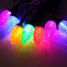LED灯串C9草莓灯串圣诞装饰灯串UL认证