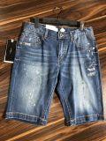 國內年輕時尚男裝品牌與狼共舞休閒牛仔短褲品牌尾貨