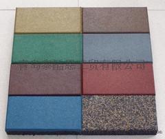 厂家直销EPDM橡胶颗粒条形地砖
