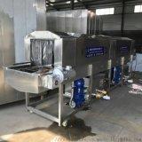 洗筐机山东厂家直销 食品塑料筐周转筐清洗机