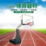 优质手动液压升降篮球架 比赛用室内篮球架