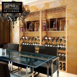 不鏽鋼紅酒架 葡萄酒架 酒瓶架 不鏽鋼玫瑰金酒架