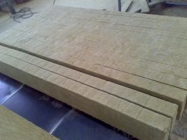 樱花岩棉条 彩钢板保温岩棉芯材