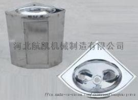河北航凯扇形不锈钢洗手盆