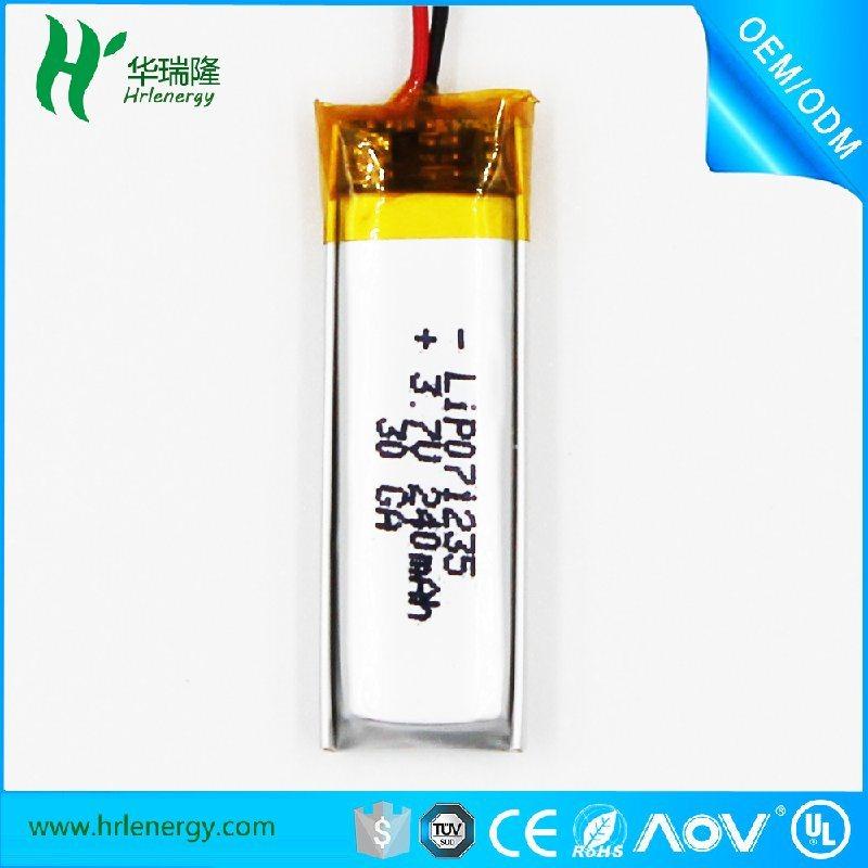 701235-240mah电池  聚合物锂电池厂家