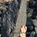 本格供应假山造景大块火山石 造景过滤火山岩红