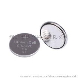环保耐用CR2025纽扣电池 160mAh