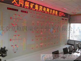 北京框图式调度屏 电力调度模拟屏