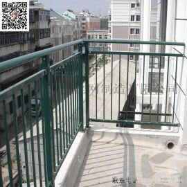 阳台护栏 小区别墅阳台防护栏 锌钢阳台护栏