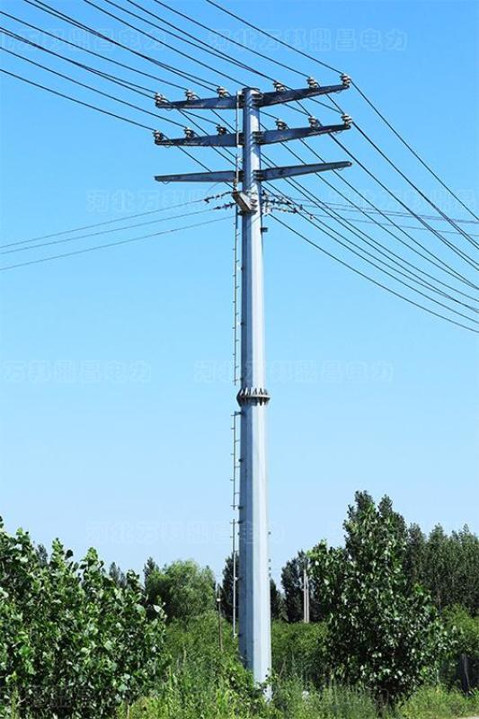 10KV电力钢杆,35KV钢管杆