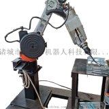 山东潍坊迈德尔可定做国产六轴关节机械手焊接机器人