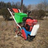 蔬菜大蔥小麥耘耕機氣死牛農用播種機汽油鏈軌耘播機