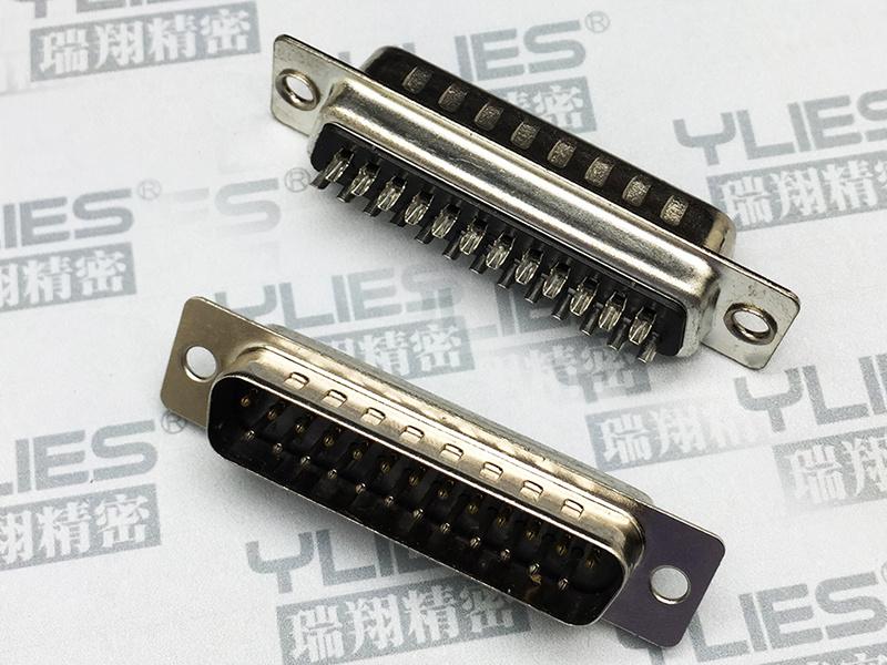 469-D-SUB连接器   插座 双排焊线式