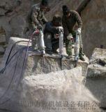 工程赶工期不能爆破的情况下怎么拆除岩石