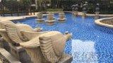 廠家推薦新款泳池磚馬賽克水池溫泉工程瓷磚廣西