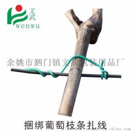 0.7繩線帶 絲獼猴桃扎線防鳥網扎條水管綁絲
