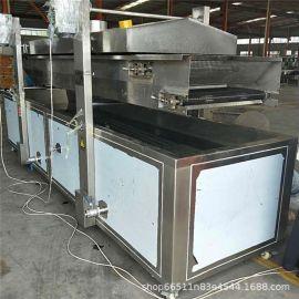 专业生产制作小龙虾油炸机 小龙虾加工流水线设备 龙虾专用油炸机