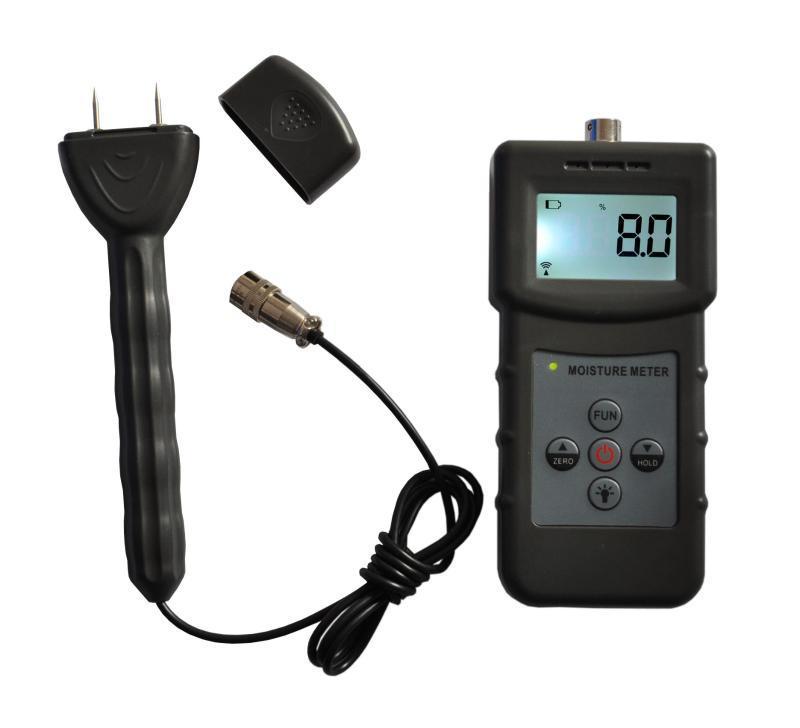 针式感应式木材水分仪, 纸箱水分检测仪 双用水分仪