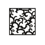 木紋鋁窗花廠家直銷鋁窗花規格裝飾材料定製