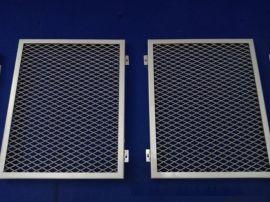 通透拉網式鋁單板天花廠家氟碳拉伸網格鋁單板國標定制