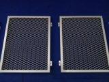 通透拉网式铝单板天花厂家氟碳拉伸网格铝单板国标定制