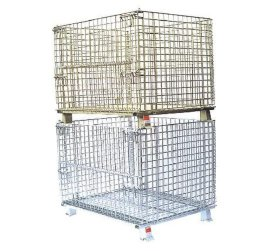 堆高倉儲籠