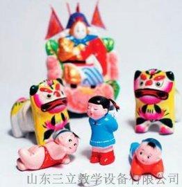 民间美术样本--玩具泥塑