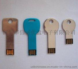 钥匙造型USB 创意U盘定制 钥匙 4GB/8GB/16GB/32GB 创意礼品u盘批发