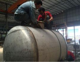 不锈钢厂家 加工分馏塔 气储罐 不锈钢换热器