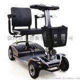 恩莱德可折叠放进后备箱的四轮电动代步车 电动老年代步车
