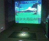 2015款核心研发3D高速摄像室内高尔夫模拟器韩国厂家直供广州代理