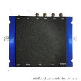 4端口读写器,RFID读写器,超高频工控机方卡科技